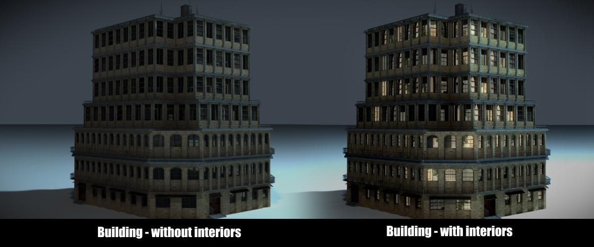 CGTalk | Free procedural building generator: Building