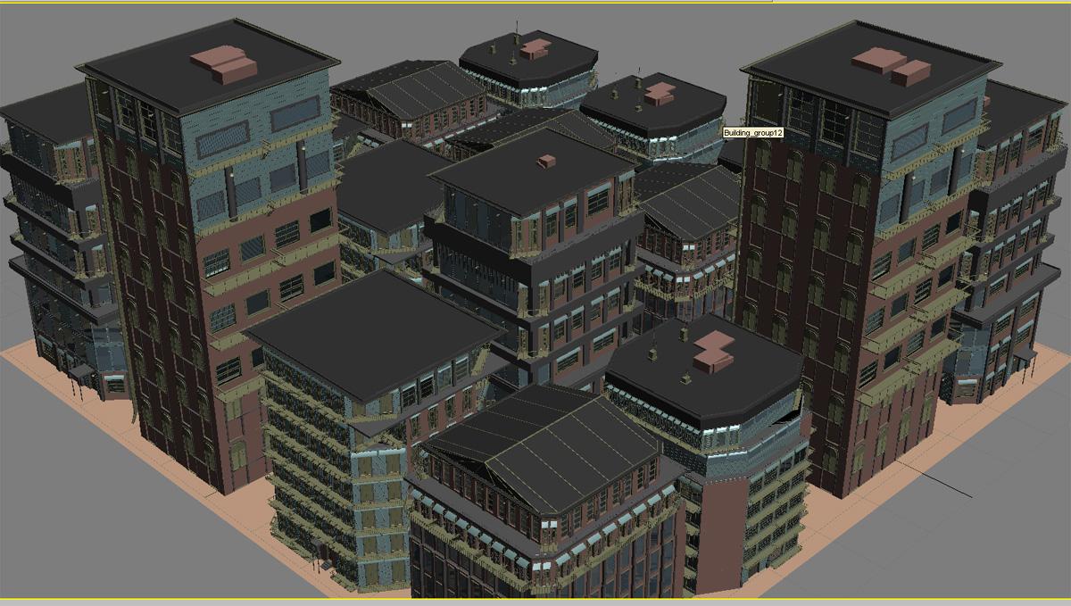 7 建筑物生成器v.7-3dmax脚本